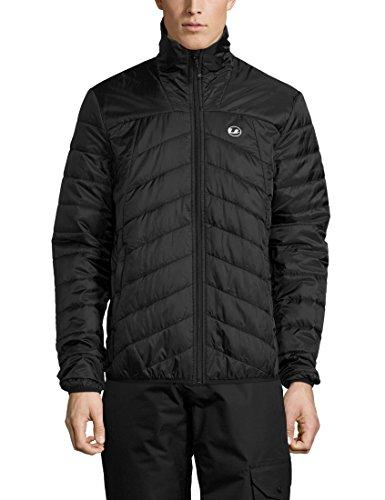 Ultrasport Advanced Men's Under Jacket Loke, down jacket, midlayer Schwarz/Schwarz
