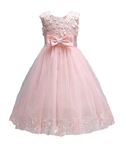 Horcute Girls Sleeveless Flower Dresses product image