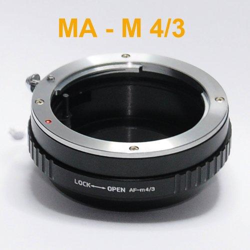 Fotasy AMAF Sony Minolta MA AF Lens to Micro Four Thirds M4/3 MFT System Camera Mount Adapter - Black Micro Four