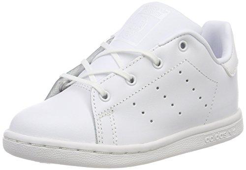 i adidas Bimbi Unisex Bianco Stan Sneaker Blanco 000 Smith qrwXnECr