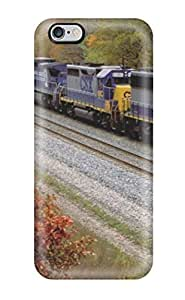 Hard Plastic Iphone 6 Plus Case Back Cover,hot Two Diesel Locomotives Case At Perfect Diy