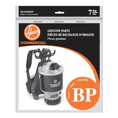 Amazon.com - Hoover Shoulder Vac and Back Pack Type Bp Bags Part # 401000bp, 1ke2103000 (14 Bags) -