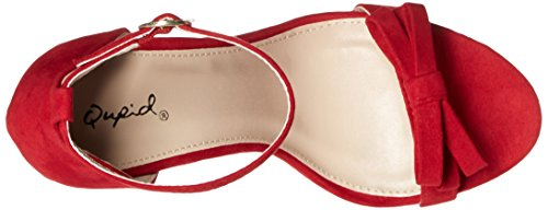 Qupid Women's Ara-245 Dress Sandal Red xlSFRXXhMa