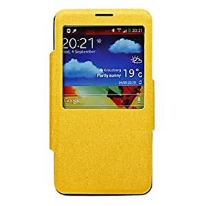 Silk Lines Skylight Stand Leather Case for Samsung Galaxy Note 3 N9000 - COLOR#Pink