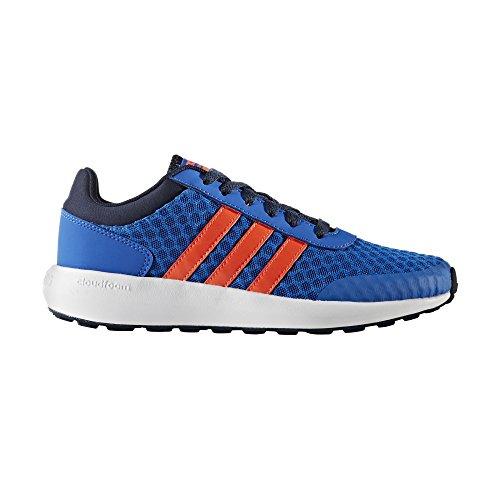 adidas Cloudfoam Race K, Zapatillas De Deporte para Niños Azul (Azul / Rojsol / Maruni)
