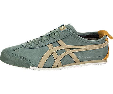 (Onitsuka Tiger Unisex Mexico 66 Shoes 1183A148, Hiking Green/Safari Khaki, 8 M US)