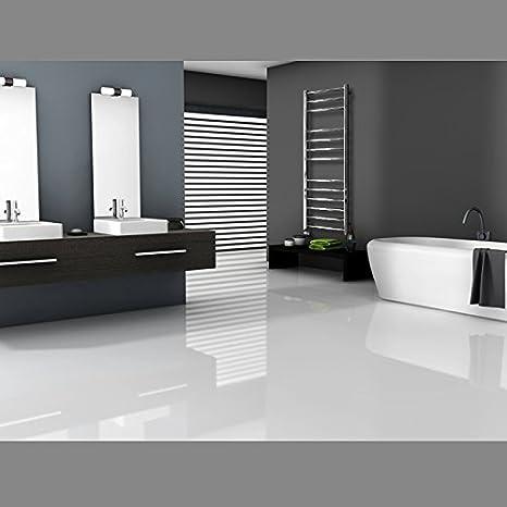 Design Designheizk/örper Heizk/örper Badheizk/örper Handtuchw/ärmer Elektrisch 802 x 500 mm Chrom mit Heizstab 600W