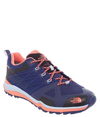 The North Face W Ultra Fastpack Ii Gtx, Zapatillas de Senderismo Mujer Azul (Patriot Blue / Radiant Orange)