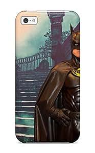 New Tpu Hard Case Premium Iphone 5c Skin Case Cover(the Darkknight)