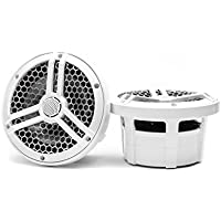 Skar Audio SK65M Marine 6.5 Full Range 2-Way 320 Watt Coaxial Speakers (Pair)