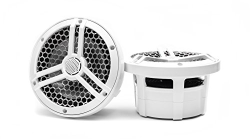 "Skar Audio SK65M Marine 6.5"" Full Range 2-Way 320 Watt Coaxial Speakers (Pair)"