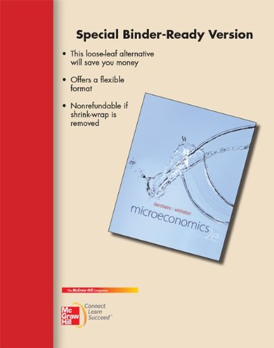 Loose-Leaf for Microeconomics