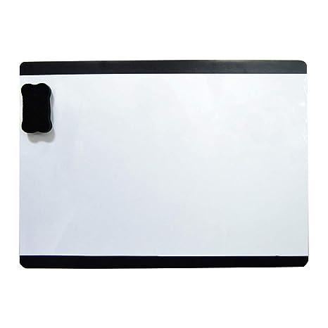 Yililay Borrable Pizarra magnética Calendario - Smart Erase ...
