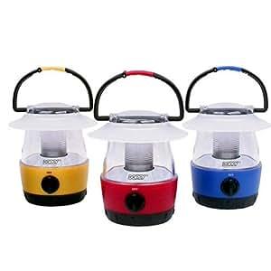 Dorcy 41-3019 Mini LED Flashlight Lantern Set with Hanging Hooks, 3-Pack, Assorted Colors