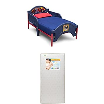 Amazon.: Delta Children Plastic Toddler Bed, Marvel Spider Man