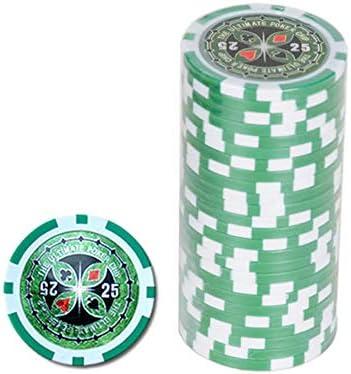 Ultimate Pokerchips 25 er Wert Poker Chip Roulette Casino Qualität