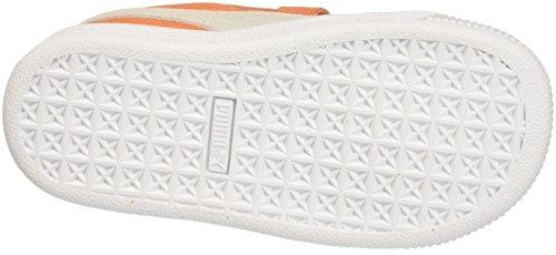 Puma Suede Classic V Inf, Zapatillas Unisex Niños Naranja (Melon-puma White)