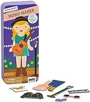 Petit Collage Shine Bright Music Maker Magentic Dress Up & Play Set