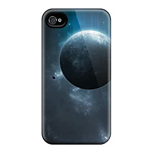 First-class Cases Covers For Iphone 4/4s Dual Protection Covers Space