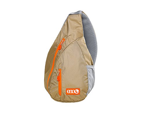 Eagles Nest Outfitters ENO Kanga Sling Backpack, Khaki/Orange by Eagles Nest Outfitters