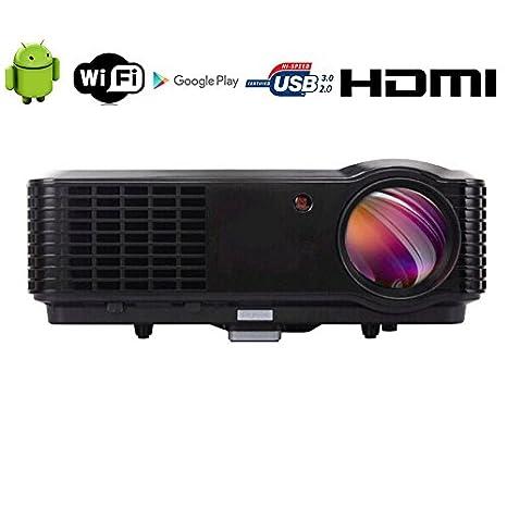 Inalámbrico 4500 lúmenes HD Proyector Full HD 7000: 1 cine en casa ...