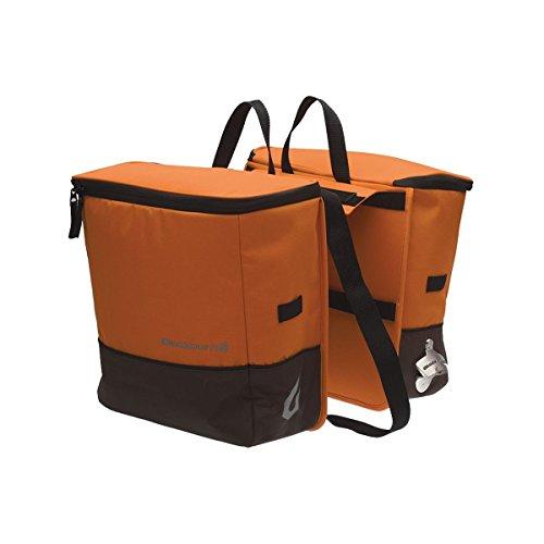 Blackburn Pannier Rack - Blackburn Local Cooler Saddlebag Pannier Orange/Black, One Size