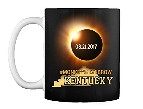 Monkey's Eyebrow Kentucky Eclipse 2017 - Ceramic Coffee/Tea Mug 11 oz ()