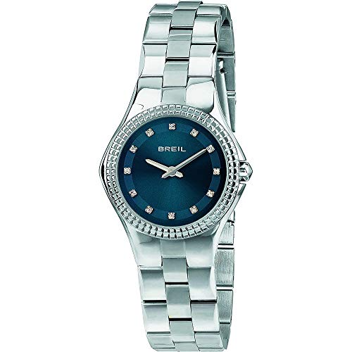 BREIL Watch Curvy Female Only Time with Crystals - TW1729