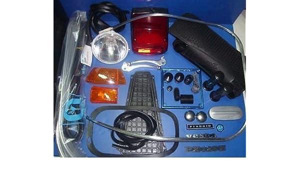 Kit de recambios y accesorios para Vespa Piaggio PX PE 125 1er tipo: Amazon.es: Coche y moto