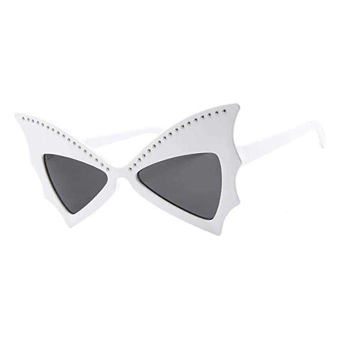 VJGOAL Moda para mujer con forma de murciélago retro Gafas ...