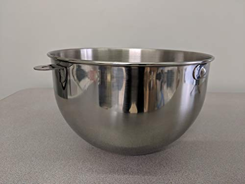 Compatible with Kenmore 89308 Stand Mixer mixing bowl With No Handle (5 QT)