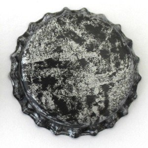 Zebra Bottle Cap - 6