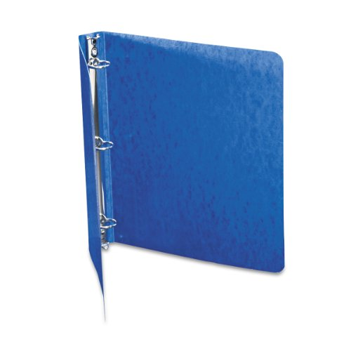 ACCO Presstex 1 Inch Ring Binder, 8.5 x 11 Inch Sheet Size, Dark Blue (A7038613A)