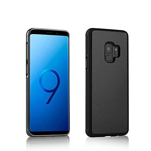 Fitted Cases - Anti Gravity Phone Case For Samsung S9 S8 S7 S6 S5 Edge Plus Note 8 7 5 4 For Iphone X 8 7 6s 6 Plus Adsorbed Cover Cases - For Samsung S7 Black - Galaxy Cell Paper Smart Ring (Raccoon Case S5 Samsung Galaxy)