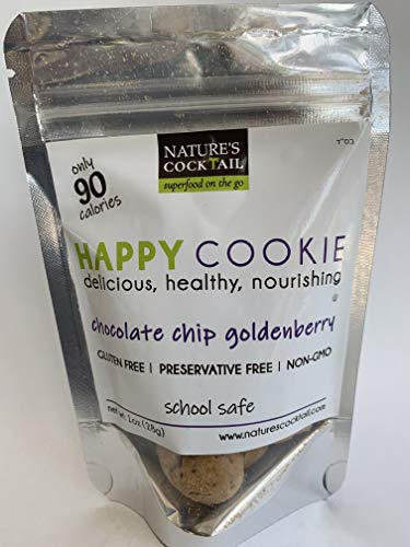 """Nature's Cocktail –""""Eat Me Healthy"""" Cookies (Chocolate Chip Goldenberry, Small)"""