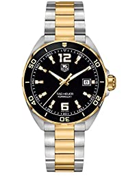 Tag Heuer Formula 1 Quartz Men's Watch Black Dial Steel and Gold Tone Bracelet WAZ1121.BB0879, Man, Gentleman, Model:WAZ1121.BB0879, Whristwatch, Wrist Watch