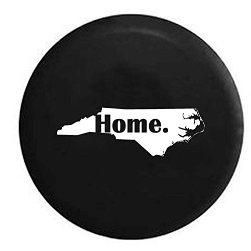 North Carolina Home State Edition RV Spare Tire Cover OEM Vinyl Black 32 in