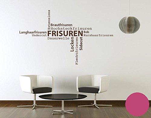 Klebefieber Wandtattoo Frisuren B x H  130cm x 76cm 76cm 76cm Farbe  Dunkelgrau B0713YXGZ7 Wandtattoos & Wandbilder 2ab994