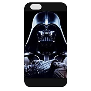 UniqueBox - Customized Personalized Black Frosted iPhone 6 4.7 Case, Star Wars iPhone 6 4.7 case, Star Wars Han Solo, Death Star, Darth Vader, Logo iPhone 6 4.7 case, Only fit iPhone 6 4.7