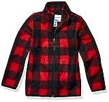 Amazon Essentials Boy's Full-Zip Polar Fleece Jacket