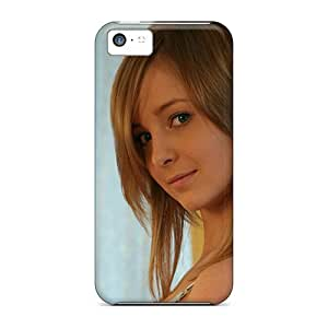Durable Blondes Girls Teen Face Back Case/cover For Iphone 5c