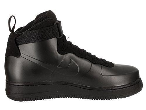 Nike Mens Air Force 1 Scarpa Casual Da Uomo Nero / Nero