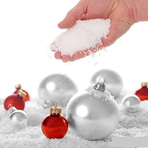 WarmShine 20 Pack Instant Snow Powder SAP Magic Snow Reusable DIY Artificial Slime Simulation Snow Home Ornament Party Decoration by WarmShine (Image #6)