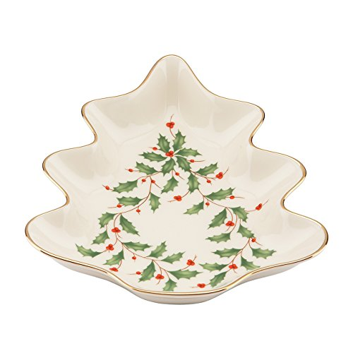 Holiday Candy Dish (Lenox Holiday Tree Candy Dish,Ivory)