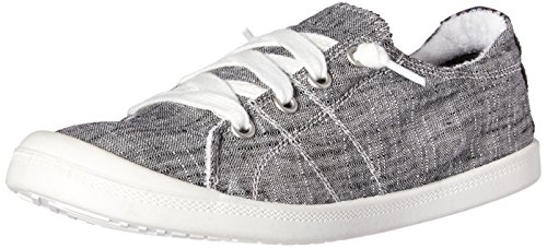 Not Rated Women's Rae Sneaker, Charcoal, 8 M US
