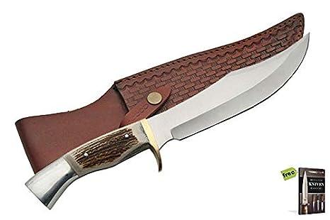 Amazon.com: SURVIVAL STEEL - Cuchillo de hierro con mango de ...