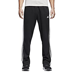 adidas Men's Essentials 3 Stripe Regular Fit Fleece Pants from adidas Inline Apparel Child Code (Sports Apparel