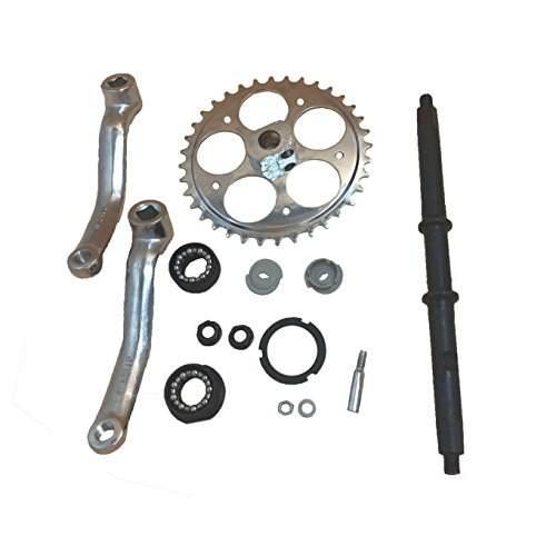 dolphin1986 36T Wide Crank Assembly Kit-3pcs,for 2-stroke and 4- stroke motor-gas Motorized ()
