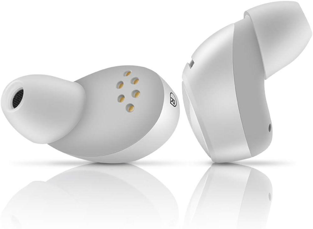 XXW Bluetooth-headset Bluetooth headset 5.0 stereo sport mini dual hoofdtelefoon Android Apple Phone Universal hoofdtelefoon wit