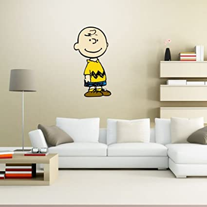 Charlie Brown Snoopy Wall Graphic Decal Sticker 28u0026quot; ...  sc 1 st  Amazon.com & Amazon.com: Charlie Brown Snoopy Wall Graphic Decal Sticker 28